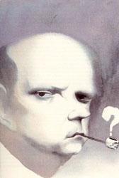 Caricatura de Miguel Labordeta de José Luis Cano