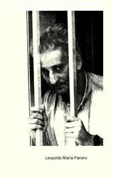 Leopoldo María Panero, recluido en un centro psiquíatrico.
