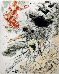 Dulcinea de Salvador Dali